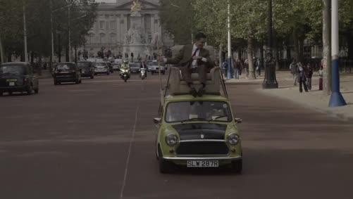 Mr Bean 25th Anniversary at Buckingham Palace - Rowan Atkinson