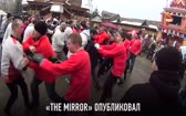 Russian Hooligans Fight