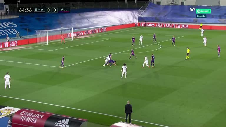 Gol de Vinicius Jr Real Madrid - Real Valladolid (30092020) Jornada 4