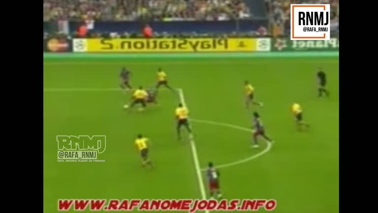 Gol de Etoo en fuera de juego Barcelona vs Arsenal final de Champions League 2006